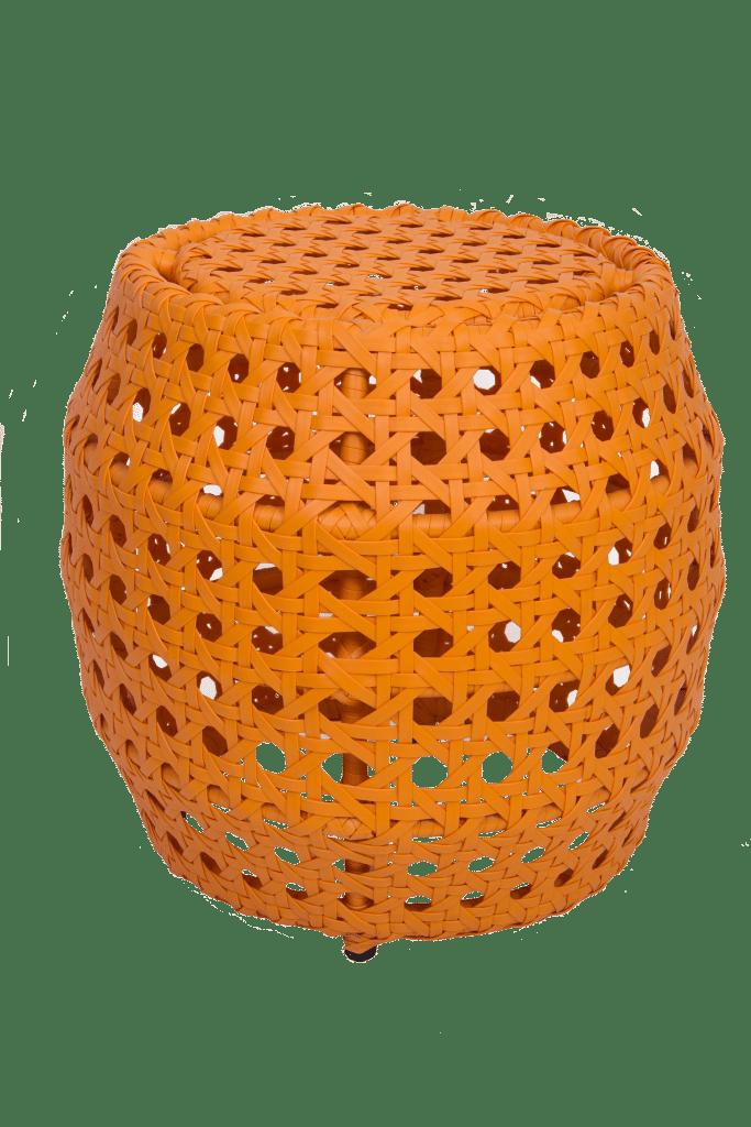 Puff Seat Garden em fibra sintética